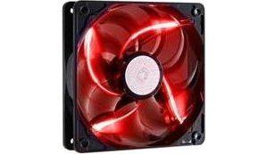 Obrázok pre výrobcu ventilátor Coolermaster SickleFlow 120x120, long life sleave, 19dBA, red LED