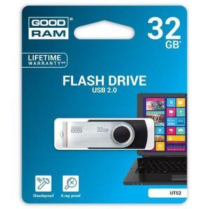 Obrázok pre výrobcu GOODDRIVE 32GB USB kľúč Twister Čierna
