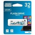 Obrázok pre výrobcu GOODDRIVE 32GB USB kľúč CL!CK, biely