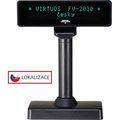 Obrázok pre výrobcu VFD zák.displej FV-2030B 2x20, 9mm,Serial, černý