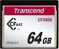 Obrázok pre výrobcu Transcend 64GB CFast 2.0 CFX600 paměťová karta (MLC)