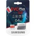 Obrázok pre výrobcu Micro SDXC 64GB Samsung EVO Plus + SD adaptér