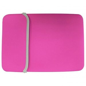 """Obrázok pre výrobcu Obojstranný obal na netbook, 10,1"""", SLEEVE, ružovo-čierny z neoprénu, Logo"""