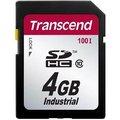 Obrázok pre výrobcu Transcend 4GB SDHC průmyslová paměťová karta (Class 10)