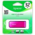 Obrázok pre výrobcu Apacer USB flash disk, 2.0, 32GB, AH334, ružový, AP32GAH334P-1, s výsuvným konektorom