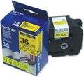Obrázok pre výrobcu Brother - TZ-661, žltá / čierne - (36mm, lamin.)