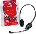 Obrázok pre výrobcu Genius headset - HS-200C, sluchátka s mikrofonem, 2x 3,5mm jack