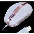 Obrázok pre výrobcu E-Blue Myš S-brigo-S, optická, 3tl., 1 koliesko, drôtová (USB), ružové, 1480dpi