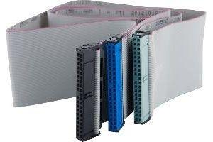 Obrázok pre výrobcu 4World HDD kábel | ATA 40-pin IDE66 | 90cm | šedá
