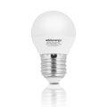 Obrázok pre výrobcu Whitenergy LED žiarovka | E27 | 5 SMD 2835 | 3W | 175-250V | mlieko | G45