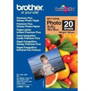 Obrázok pre výrobcu BP71GP20, 20 listů, 10x15cm Premium Glossy,260g