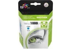 Obrázok pre výrobcu Ink. kazeta TB kompat. s Brother LC 1000 C 100% N
