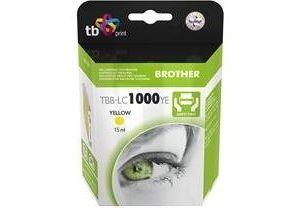 Obrázok pre výrobcu Ink. kazeta TB kompat. s Brother LC 1000 Y 100% N