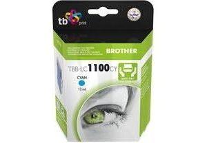 Obrázok pre výrobcu Ink. kazeta TB kompat. s Brother LC 1100 C 100% N