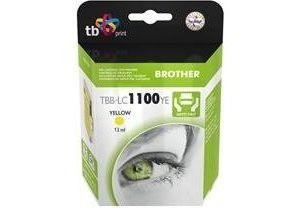 Obrázok pre výrobcu Ink. kazeta TB kompat. s Brother LC 1100 Y 100% N