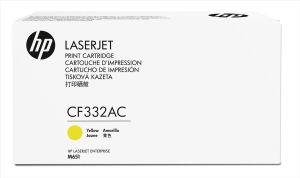 Obrázok pre výrobcu HP 654A Ylw Contract LJ Toner Cartridge