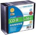 Obrázok pre výrobcu Esperanza CD-R [ slim jewel case 1ks | 700MB | 56x | Silver ]