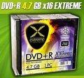 Obrázok pre výrobcu DVD+R Extreme [ slim jewel case 10 | 4.7GB | 16x ]