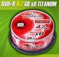 Obrázok pre výrobcu DVD+R Titanum [ cakebox 25 | 4.7GB | 8x ]