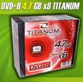Obrázok pre výrobcu DVD+R Titanum [ slim jewel case 10 | 4.7GB | 8x ]