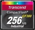 Obrázok pre výrobcu Transcend 256MB INDUSTRIAL CF300 CF CARD, high speed 300X paměťová karta (SLC)