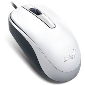 Obrázok pre výrobcu Genius myš DX-120/ drátová/ 1200 dpi/ USB/ biela