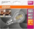 Obrázok pre výrobcu OSRAM LED Filament STAR+ ClasP 230V 4W 827 E14 DIM A++ Sklo čiré 470lm 2700K 15000h (blistr 1ks) *POŠKOZENÝ OBAL*