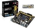 Obrázok pre výrobcu ASUS AM1I-A soc.AM1 DDR3 mITX iG GL USB3.0 DVI D-Sub HDMI COM