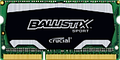 Obrázok pre výrobcu SO-DIMM 4GB DDR3 - 1600 MHz Crucial Ballistix Sport CL9 SR 1,35V