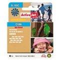Obrázok pre výrobcu Atrament ActiveJet AL-100C | Cyan | 13 ml | Lexmark 14N1069E