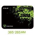 Obrázok pre výrobcu Podložka pod myš, Cobra M, herná, čierno-zelená, 36.5x26.5cm, E-Blue