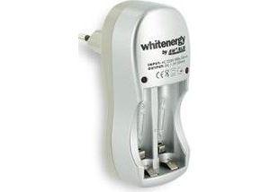 Obrázok pre výrobcu Whitenergy nabíjačka pre 2 akumulátory AA/AAA 300mA 220V