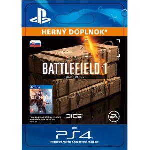 Obrázok pre výrobcu ESD SK PS4 - Battlefield 1 Battlepacks x 3