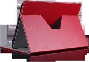 """Obrázok pre výrobcu Prestigio univerzálne rotujúce kožené púzdro pre 7"""" tablety CERVENE"""