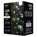 Obrázok pre výrobcu Emos LED dekorační řetěz 120 LED TIMER 12m IP44 CW, studená bílá