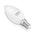 Obrázok pre výrobcu WE LED žárovka SMD2835 C37 E14 7W teplá bílá
