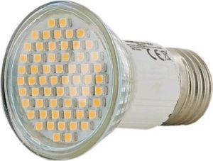 Obrázok pre výrobcu Whitenergy LED žiarovka E27 60 SMD 3528 3W 230V teplá biela reflektorová