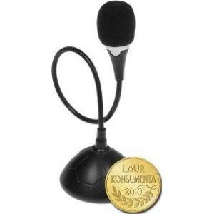 Obrázok pre výrobcu Media-Tech MICCO stolný VoIP mikrofón, pohyblivé rameno, vypínač (ON/OFF)