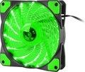 Obrázok pre výrobcu Ventilátor Genesis Hydrion 120, zelené LED, 120mm