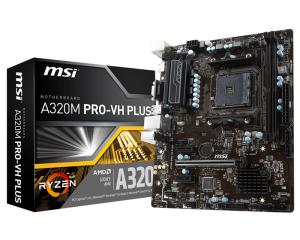 Obrázok pre výrobcu MSI A320M PRO-VH PLUS, AM4, DDR4, VR Ready, USB 3.1