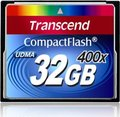 Obrázok pre výrobcu Transcend Compact Flash karta 32GB 400x, čítanie až 90MB/s; zápis až 60MB/s