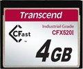 Obrázok pre výrobcu Transcend 4GB INDUSTRIAL TEMP CFAST CFX520I paměťová karta (SLC)