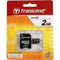 Obrázok pre výrobcu TRANSCEND Micro SD-Card 2GB + adaptér
