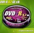 Obrázok pre výrobcu Esperanza DVD-R [ cakebox 10 | 4.7GB | 16x ]