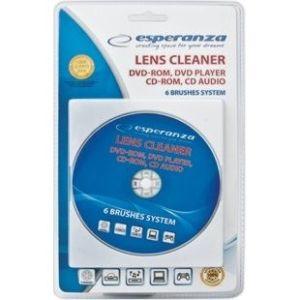Obrázok pre výrobcu Esperanza CD čistič diskov CD / DVD / BR ES117