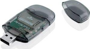 Obrázok pre výrobcu I-BOX R015 Čítačka kariet USB, 2 sloty, externá, čierna