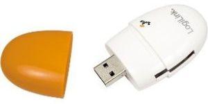 Obrázok pre výrobcu LOGILINK - Čítačka kariet USB 2.0 Stick oranžová