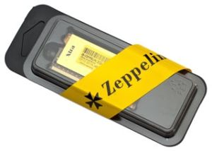 Obrázok pre výrobcu EVOLVEO Zeppelin DDR III SODIMM 2GB 1600 MHz CL11, GOLD, box