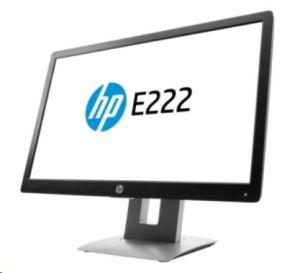 """Obrázok pre výrobcu 21.5"""" IPS HP E222 1920x1080/250/ 1000:1/VGA/DP/HDMI/7ms"""