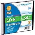 Obrázok pre výrobcu CD-R ESPERANZA [ slim jewel case 1 | 700MB | 56x | Silver ]